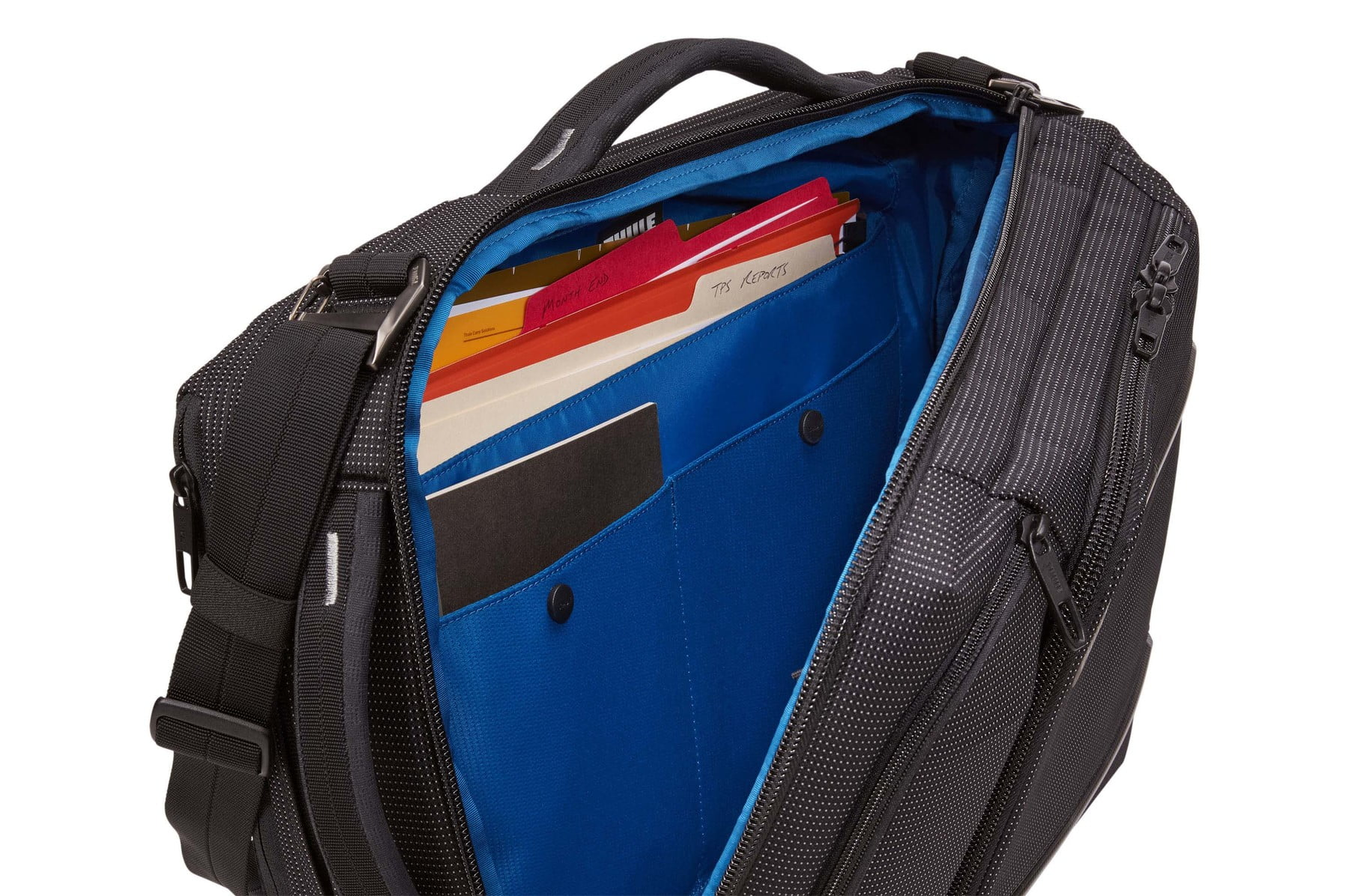 Geanta laptop Thule Crossover 2 Convertible Laptop Bag 15.6 inchi Black 6