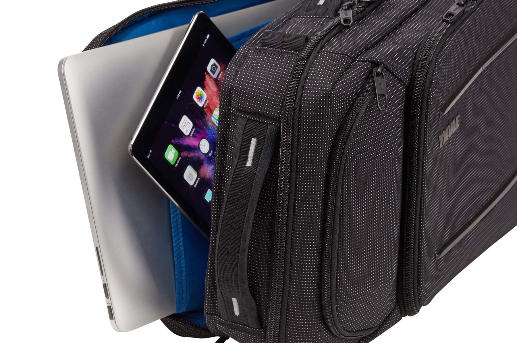Geanta laptop Thule Crossover 2 Convertible Laptop Bag 15.6 inchi Black 8