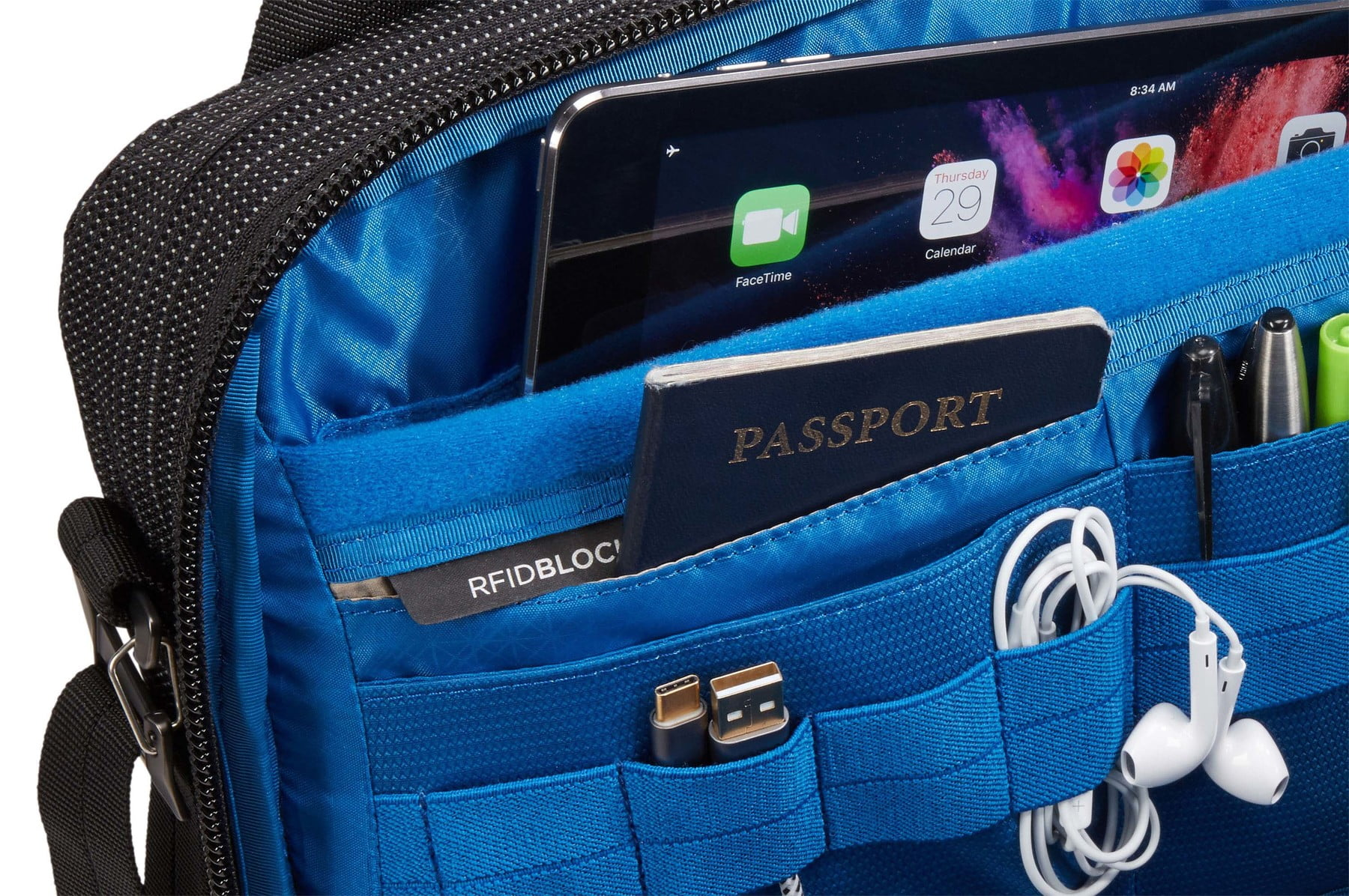 Geanta laptop Thule Crossover 2 Laptop Bag 13.3 Black 5