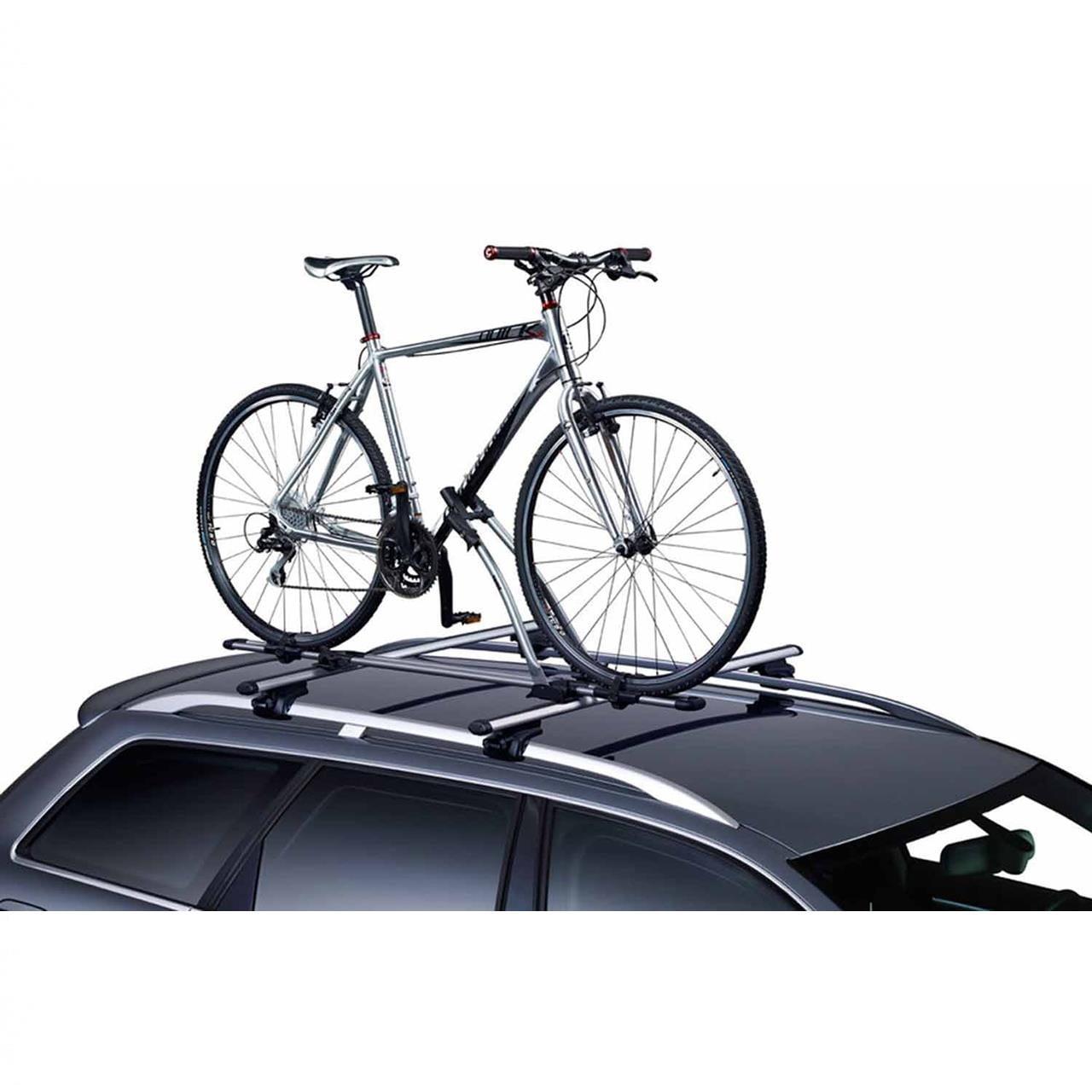 Pachet 2 buc suporturi biciclete Thule FreeRide 532 cu prindere pe bare transversale 4