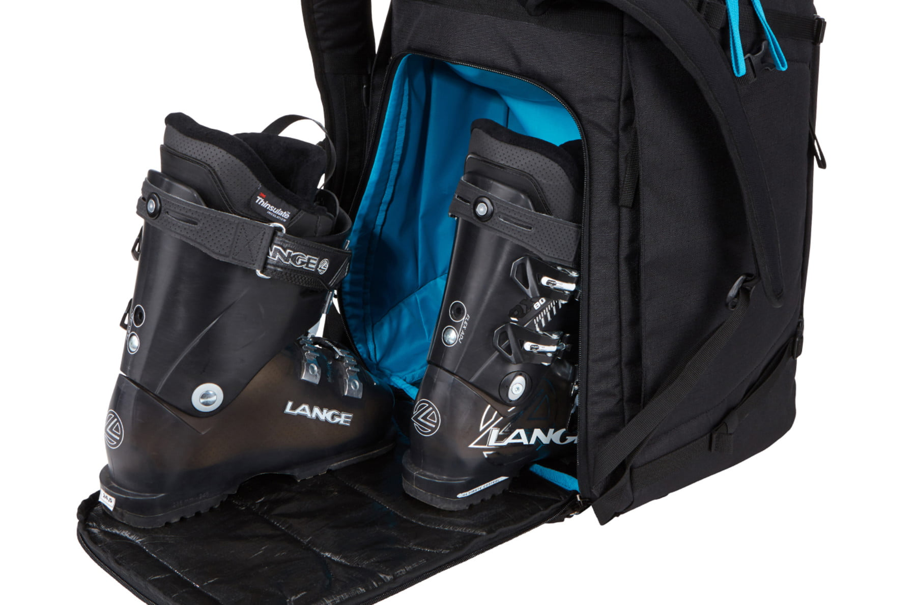 Rucsac clapari Thule RoundTrip Boot Backpack 60L Poseidon 4