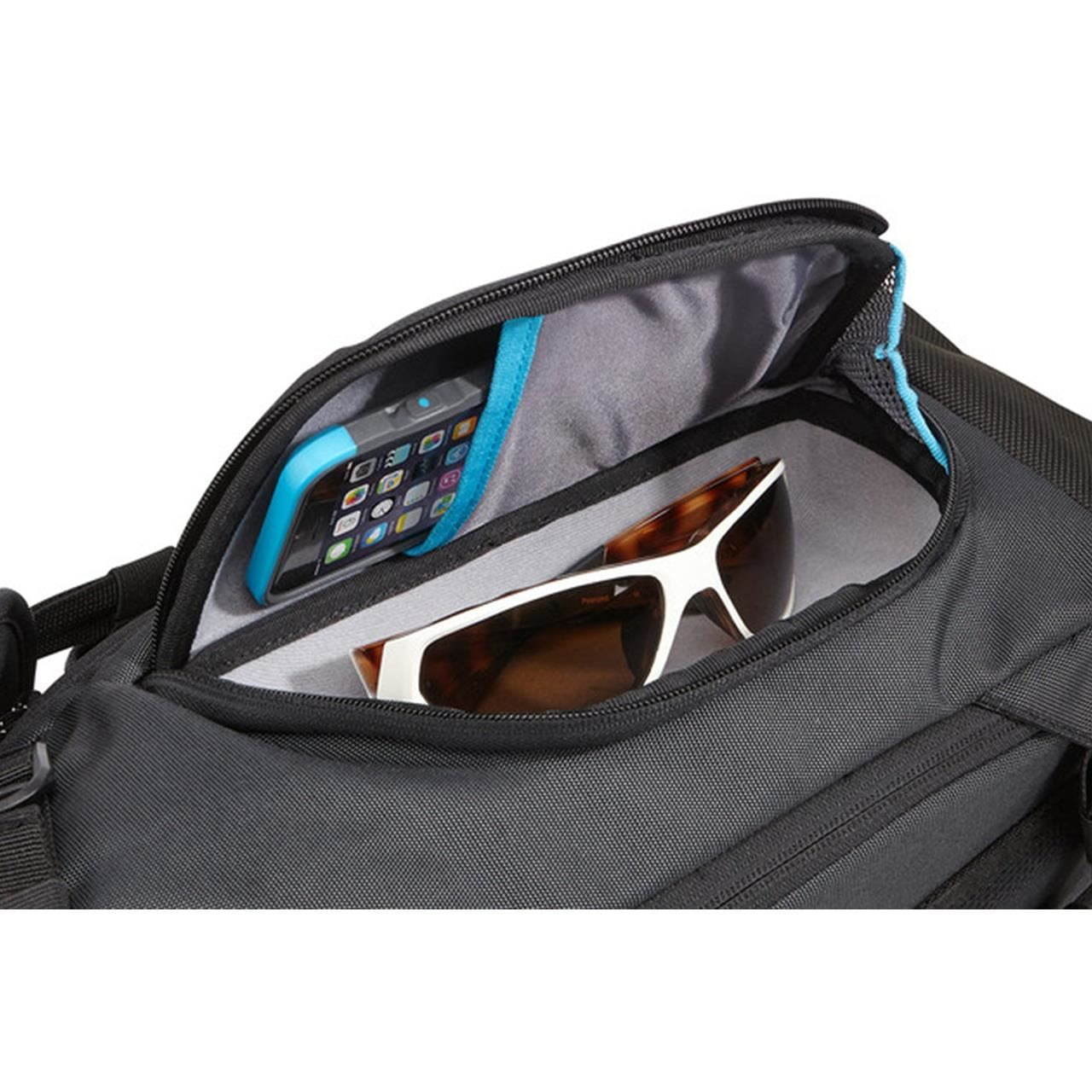 Rucsac urban cu compartiment laptop Thule Subterra Daypack pentru 15 MacBook Pro Dark Grey 3