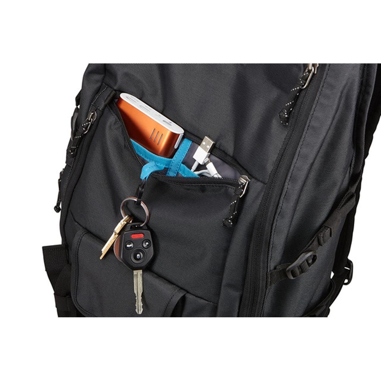 Rucsac urban cu compartiment laptop Thule Subterra Daypack pentru 15 MacBook Pro Dark Grey 4