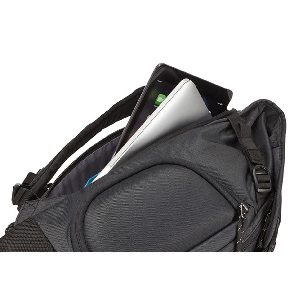 Rucsac urban cu compartiment laptop Thule Subterra Daypack pentru 15 MacBook Pro Dark Grey 9