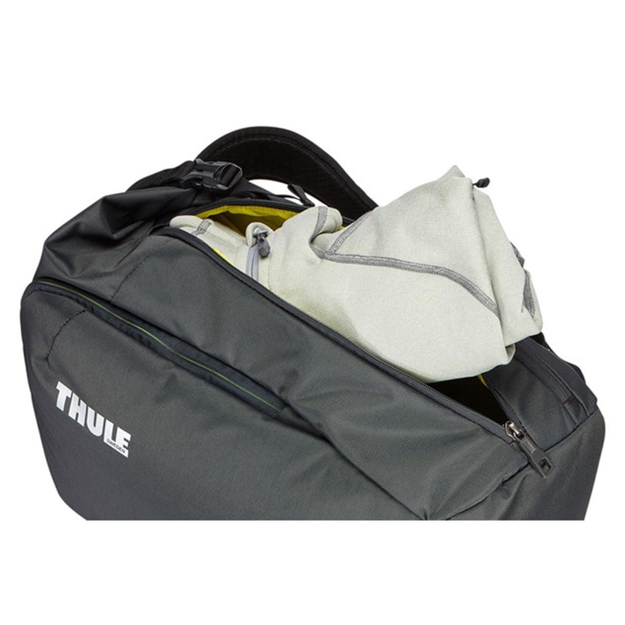 Rucsac urban cu compartiment laptop Thule Subterra Travel Backpack 34L Dark Shadow 2