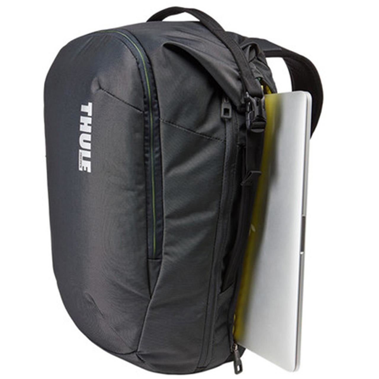 Rucsac urban cu compartiment laptop Thule Subterra Travel Backpack 34L Dark Shadow 5