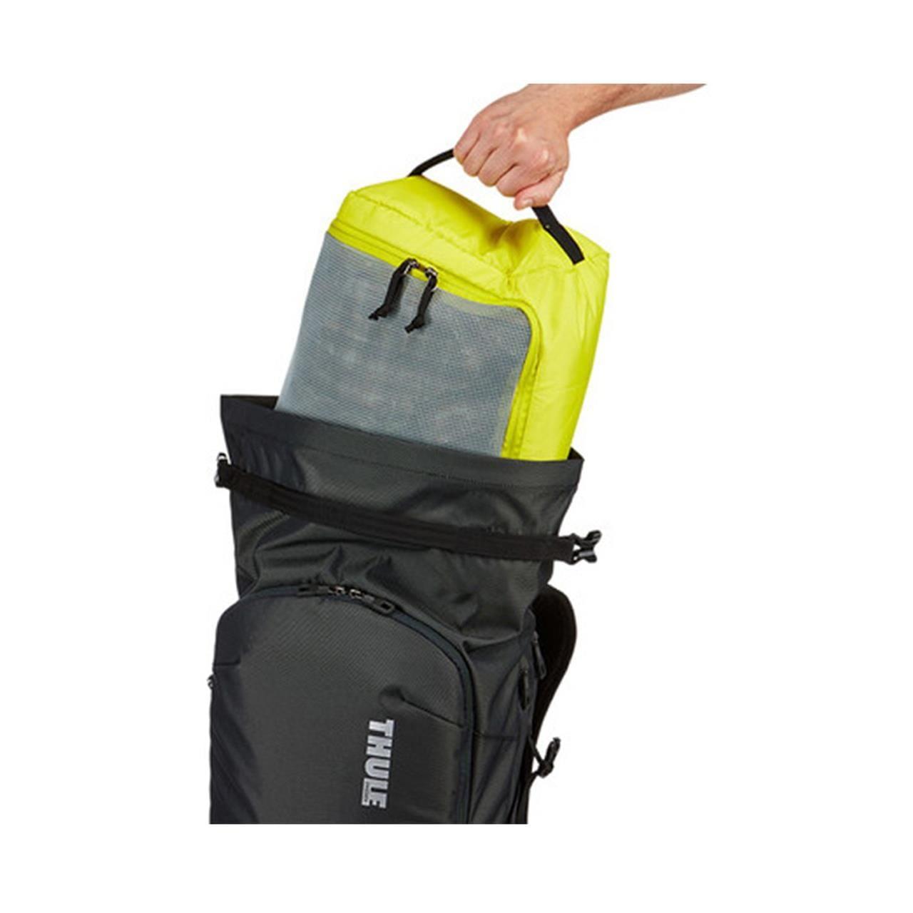 Rucsac urban cu compartiment laptop Thule Subterra Travel Backpack 34L Dark Shadow 8