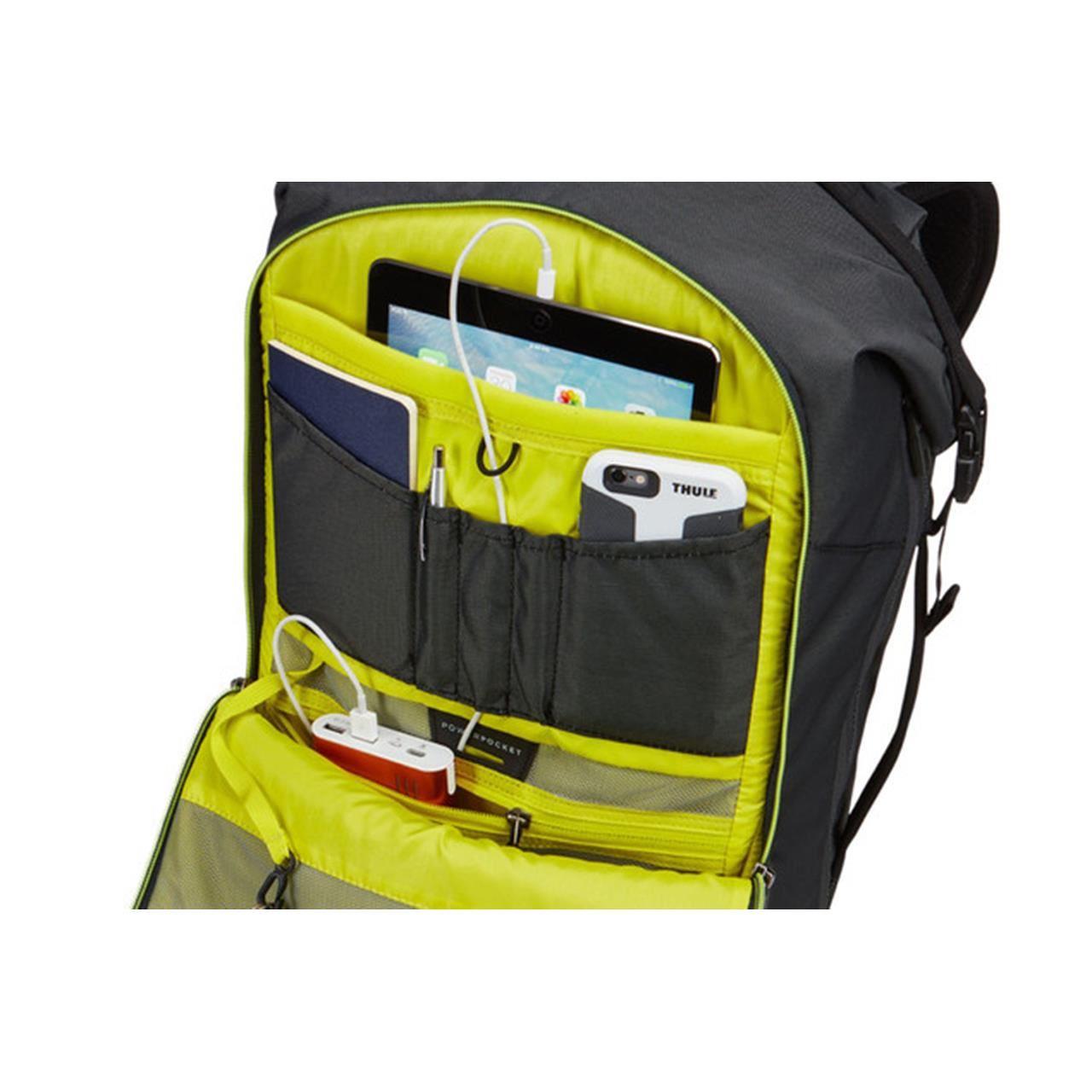 Rucsac urban cu compartiment laptop Thule Subterra Travel Backpack 34L Dark Shadow 9