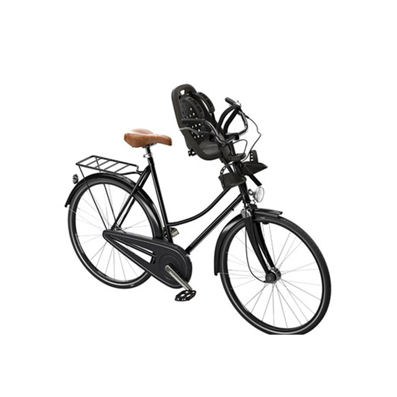 Scaun pentru copii cu montare pe bicicleta in fata Thule Yepp Mini Black 4