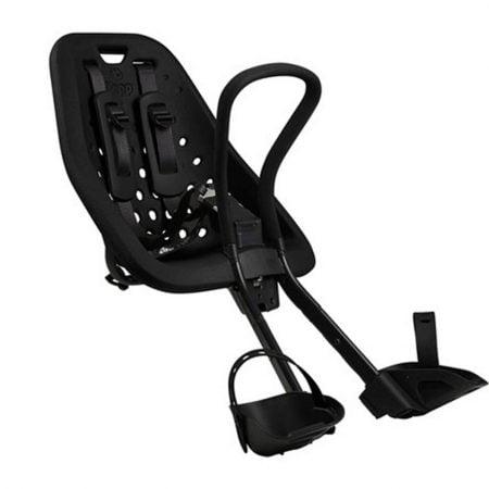 Scaun pentru copii cu montare pe bicicleta in fata Thule Yepp Mini Black