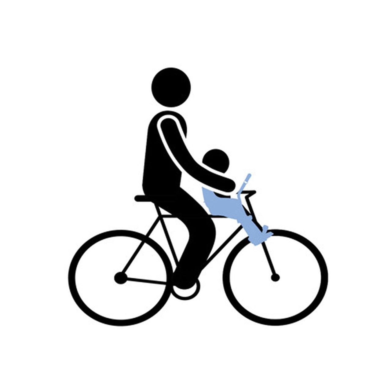 Scaun pentru copii cu montare pe bicicleta in fata Thule Yepp Mini Black 5