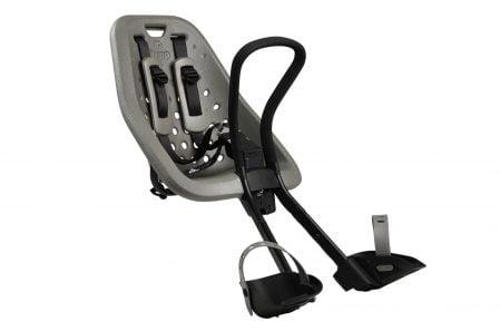 Scaun pentru copii cu montare pe bicicleta in fata Thule Yepp Mini Sylver 1