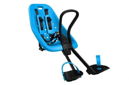 Scaun pentru copii cu montare pe bicicleta in fata Thule Yepp Mini blue 1