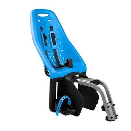 Scaun pentru copii cu montare pe bicicleta in spate Thule Yepp Maxi Frame mounted Blue 1