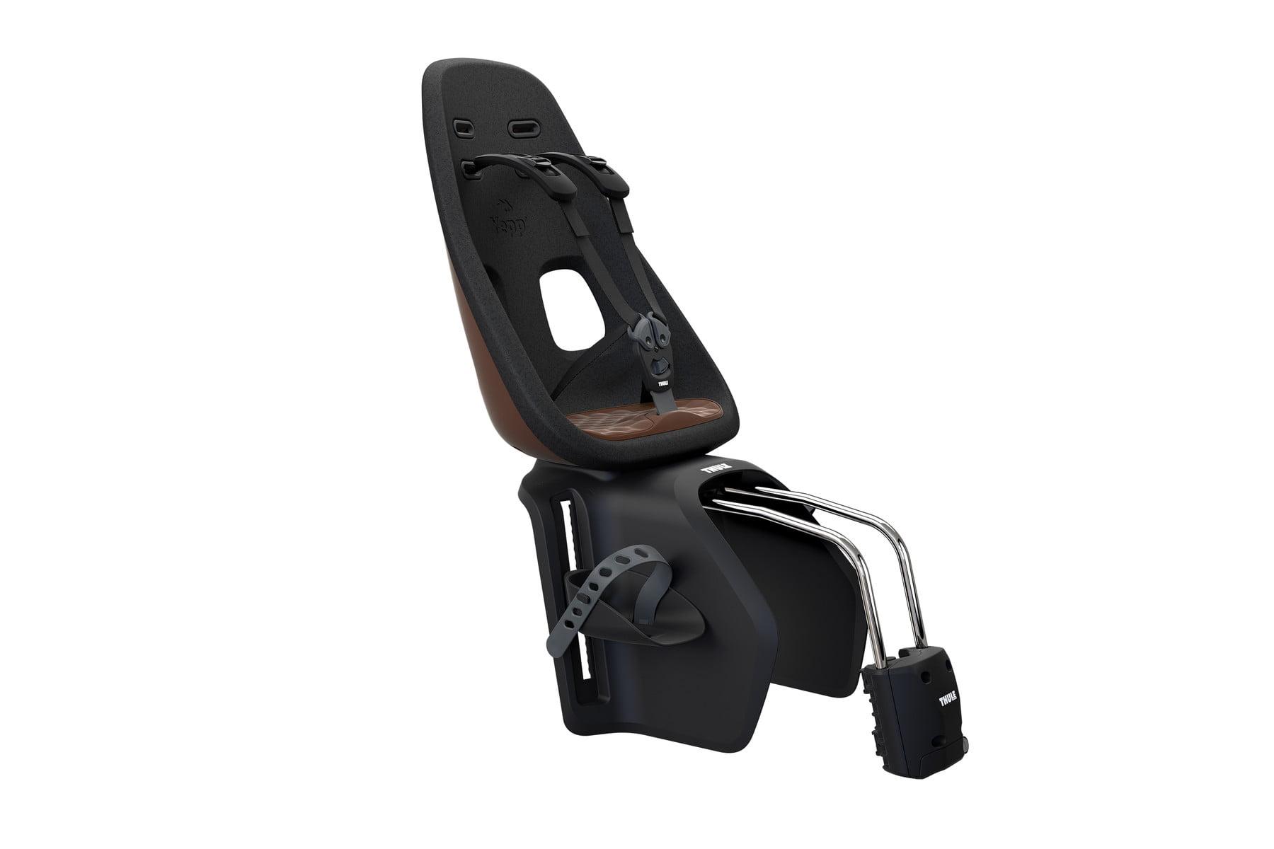 Scaun pentru copii cu montare pe cadrul bicicletei Thule Yepp Nexxt Maxi Chocolate Brown 1