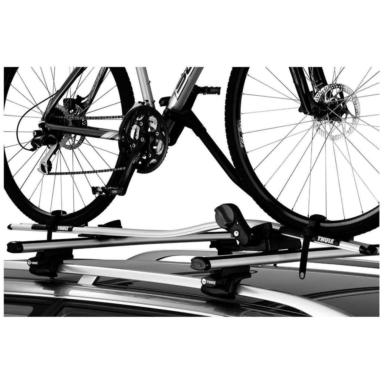 Suport bicicleta Thule ProRide 591 Argintiu cu prindere pe bare transversale 2 bucati in pachet 3