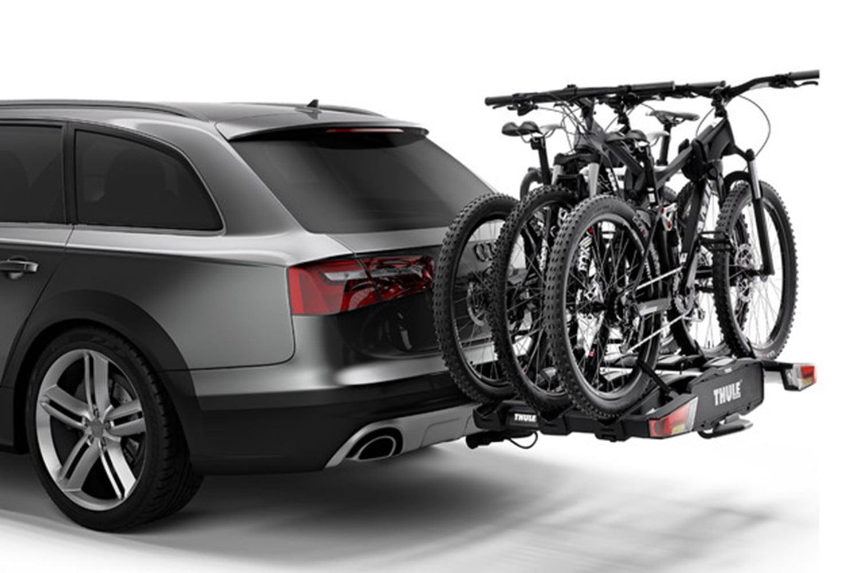Suport biciclete Thule EasyFold XT 3 cu prindere pe carligul de remorcare pentru 3 biciclete 2