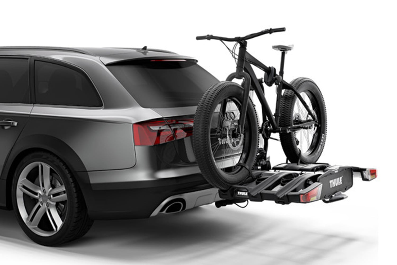 Suport biciclete Thule EasyFold XT 3 cu prindere pe carligul de remorcare pentru 3 biciclete 5