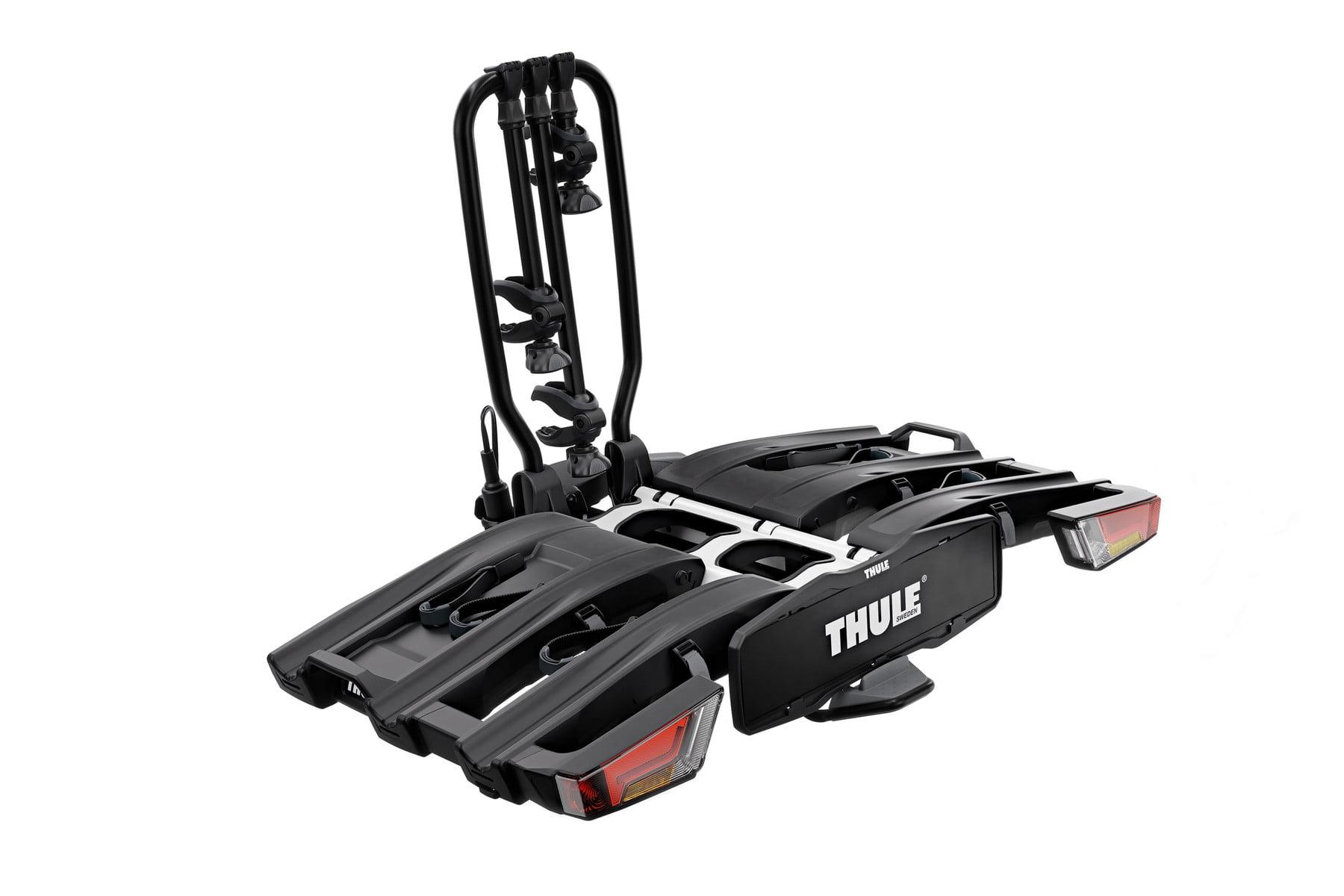 Suport biciclete Thule EasyFold XT 3 cu prindere pe carligul de remorcare pentru 3 biciclete Negru 1