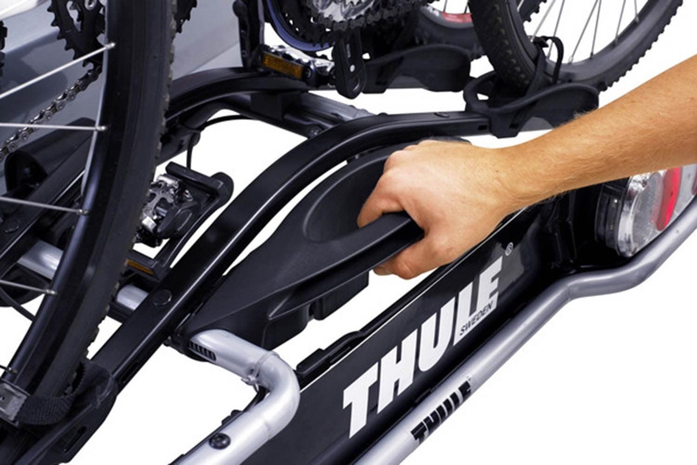 Suport biciclete Thule EuroRide 943 cu prindere pe carligul de remorcare pentru 3 biciclete 2