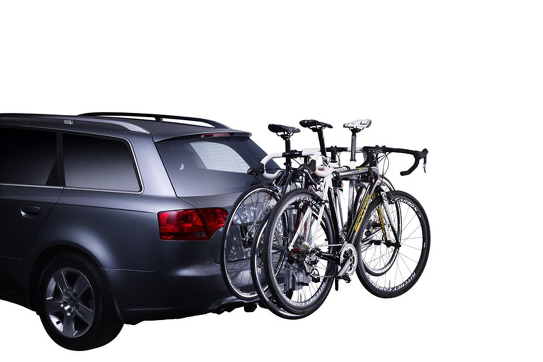 Suport biciclete Thule HangOn 974 cu prindere pe carligul de remorcare pentru 3 biciclete 3