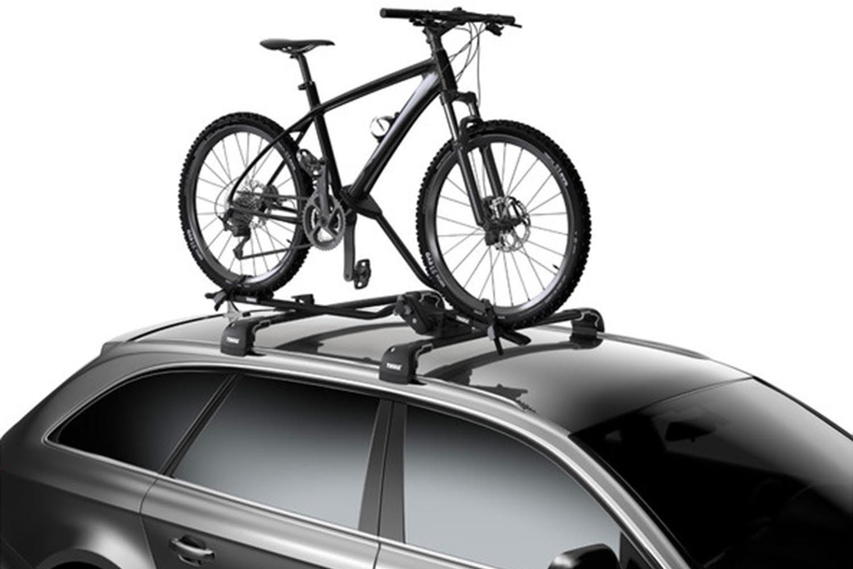 Suport biciclete Thule ProRide 598 Negru cu prindere pe bare transversale 2