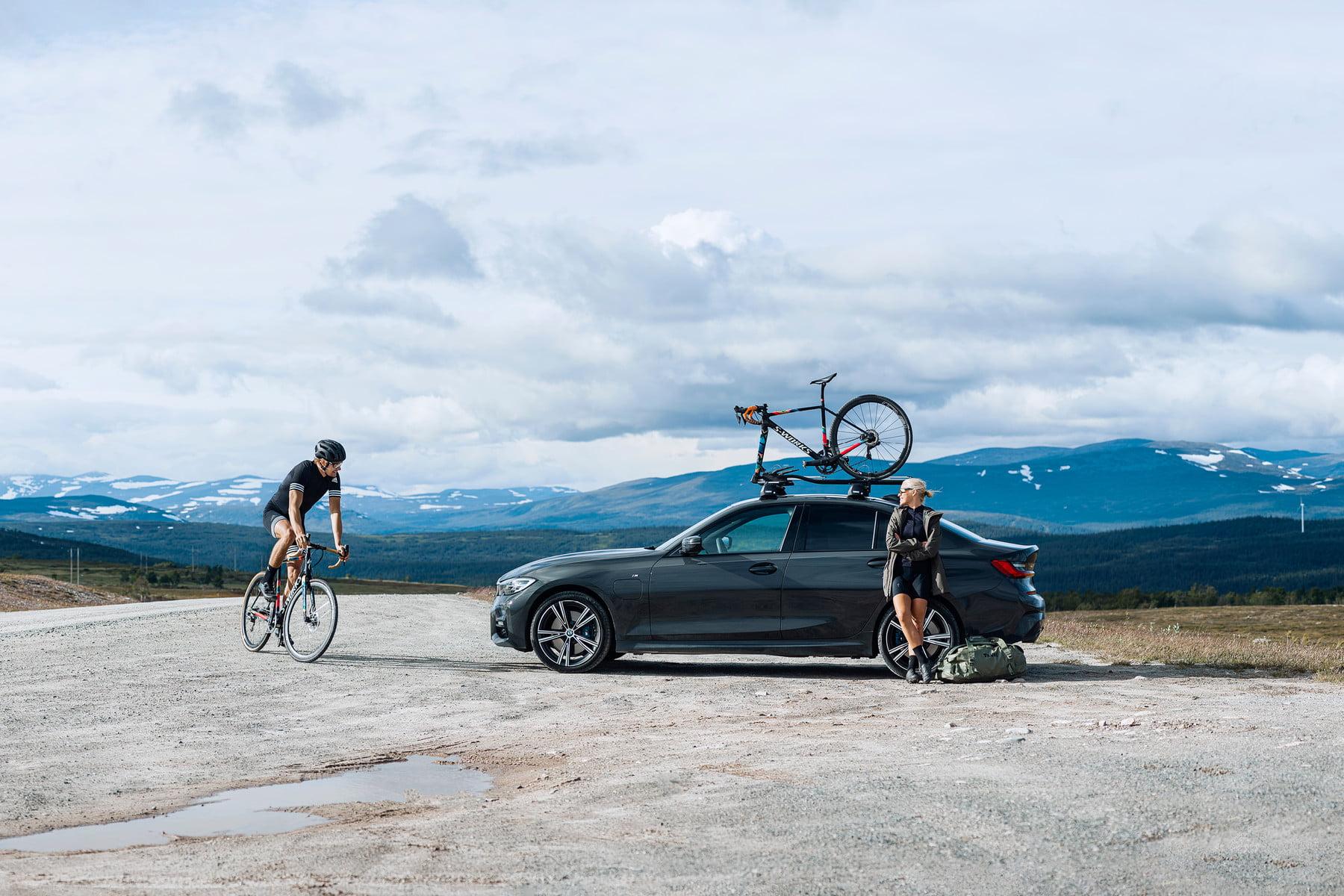 Suport biciclete Thule TopRide cu prindere pe bare transversale 3