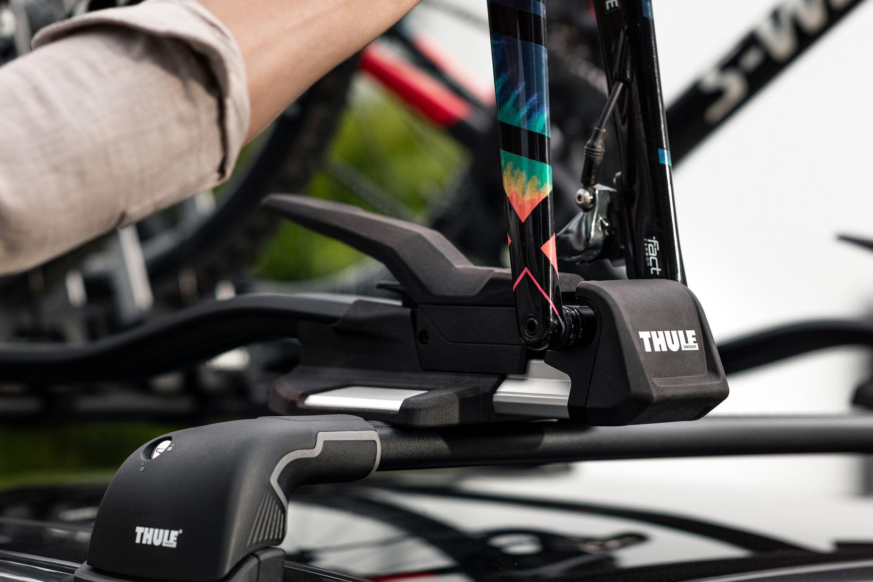 Suport biciclete Thule TopRide cu prindere pe bare transversale 4