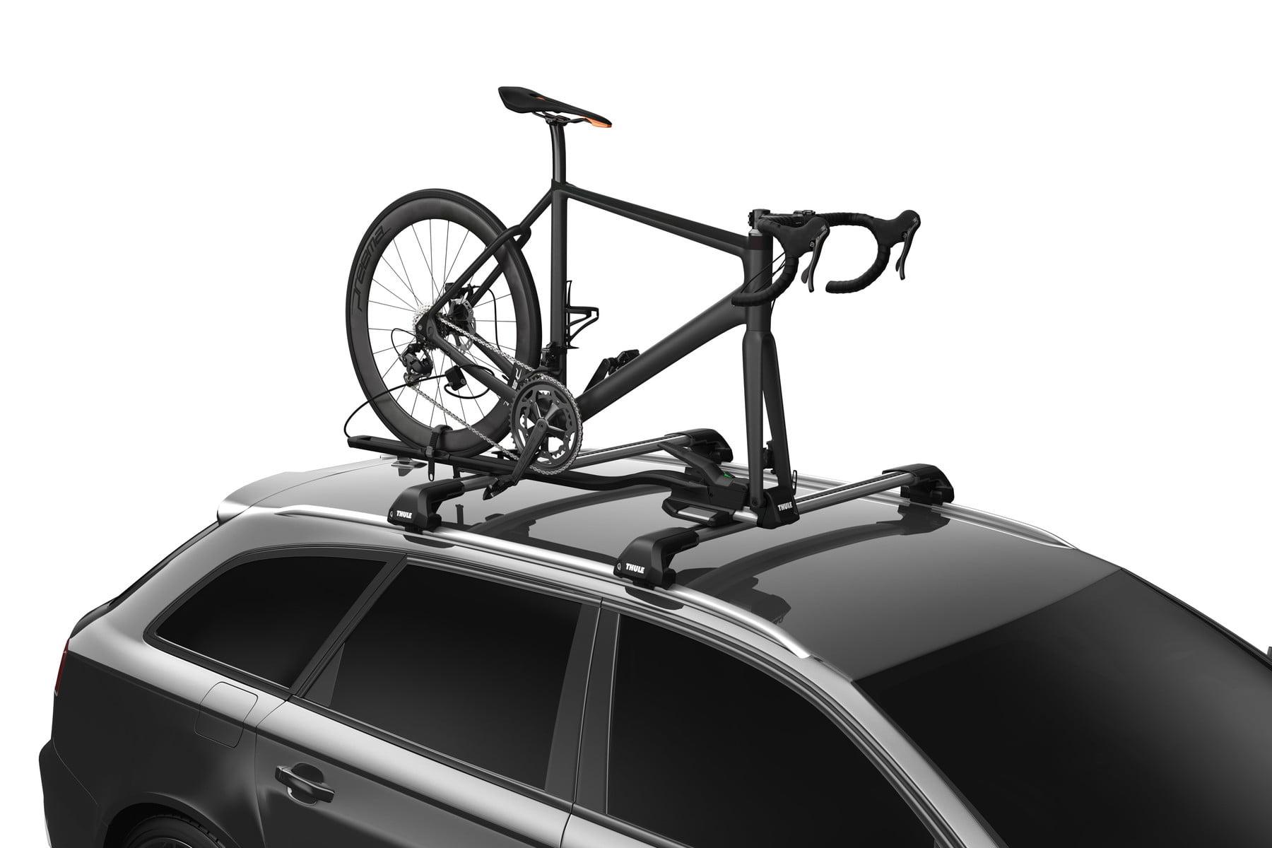 Suport biciclete Thule TopRide cu prindere pe bare transversale 5