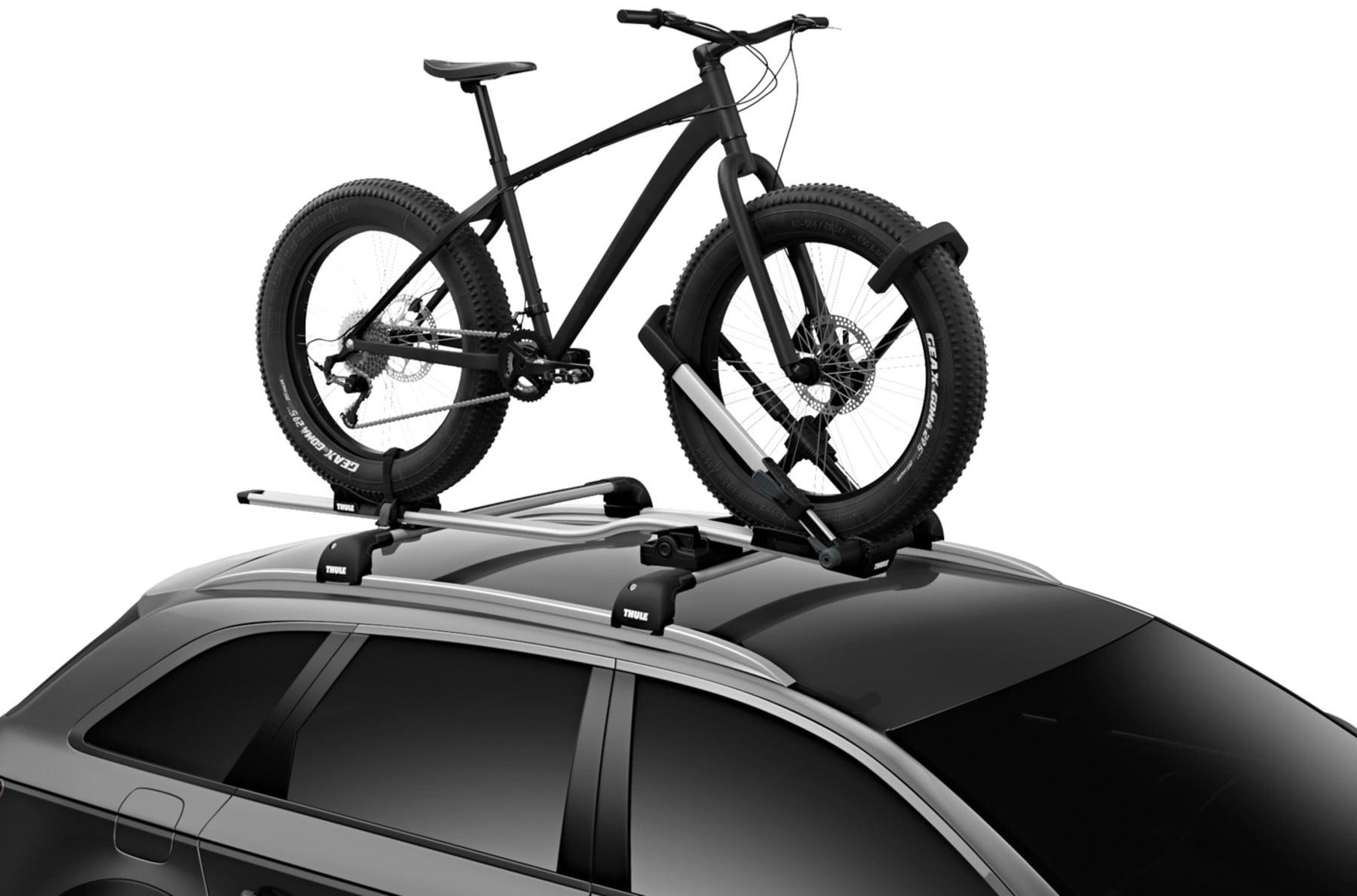 Suport biciclete Thule UpRide 599 cu prindere pe bare transversale 6