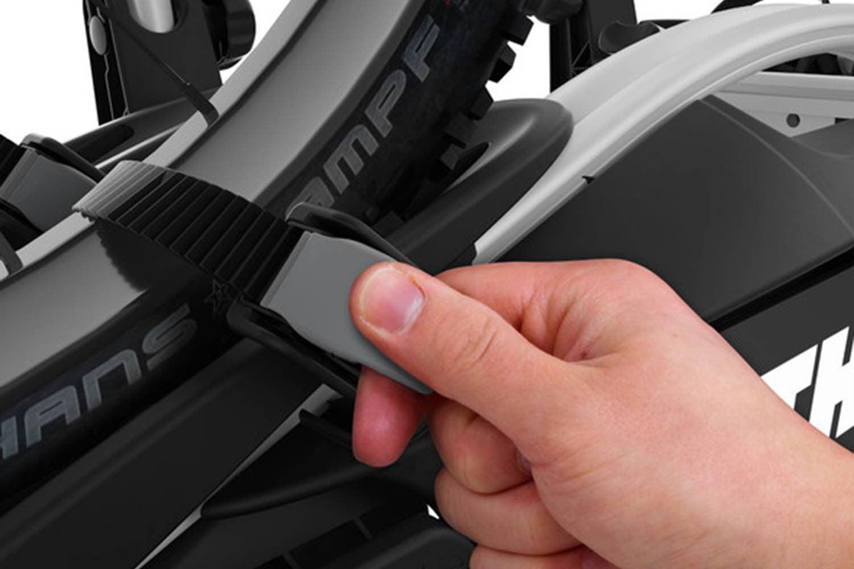 Suport biciclete Thule VeloCompact 925 cu prindere pe carligul de remorcare pentru 2 biciclete 2