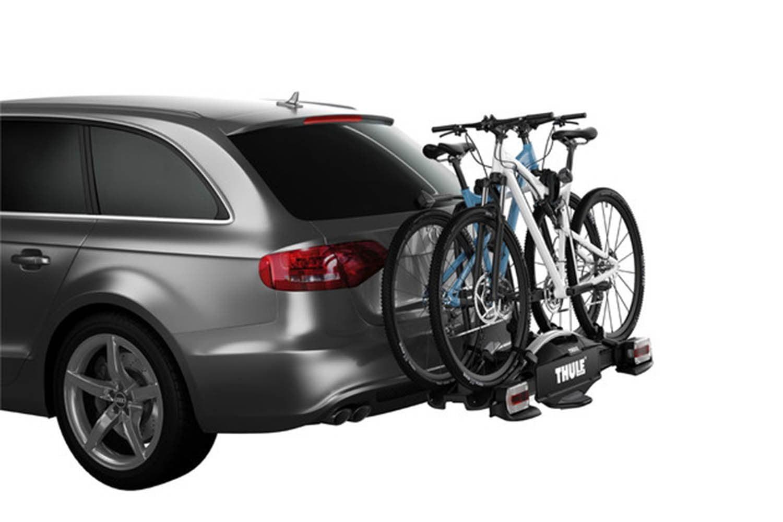 Suport biciclete Thule VeloCompact 925 cu prindere pe carligul de remorcare pentru 2 biciclete 3