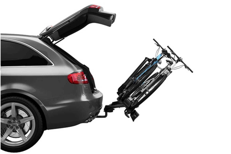 Suport biciclete Thule VeloCompact 925 cu prindere pe carligul de remorcare pentru 2 biciclete 4