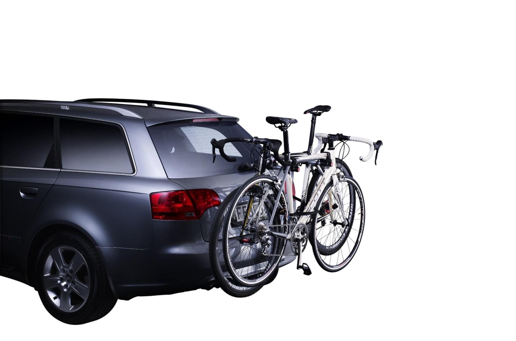 Suport biciclete Thule Xpress 2 cu prindere pe carligul de remorcare pentru 2 biciclete 1