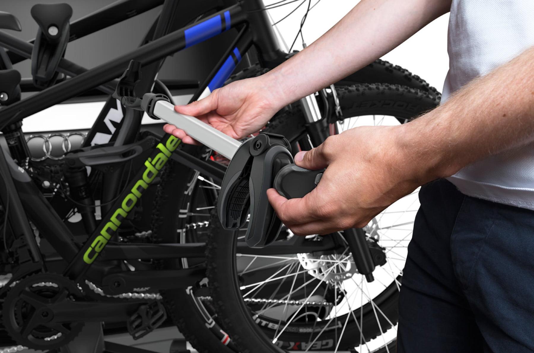 Suport pentru 3 biciclete Thule VeloSpace 939 XT3 cu prindere pe carligul de remorcare 7