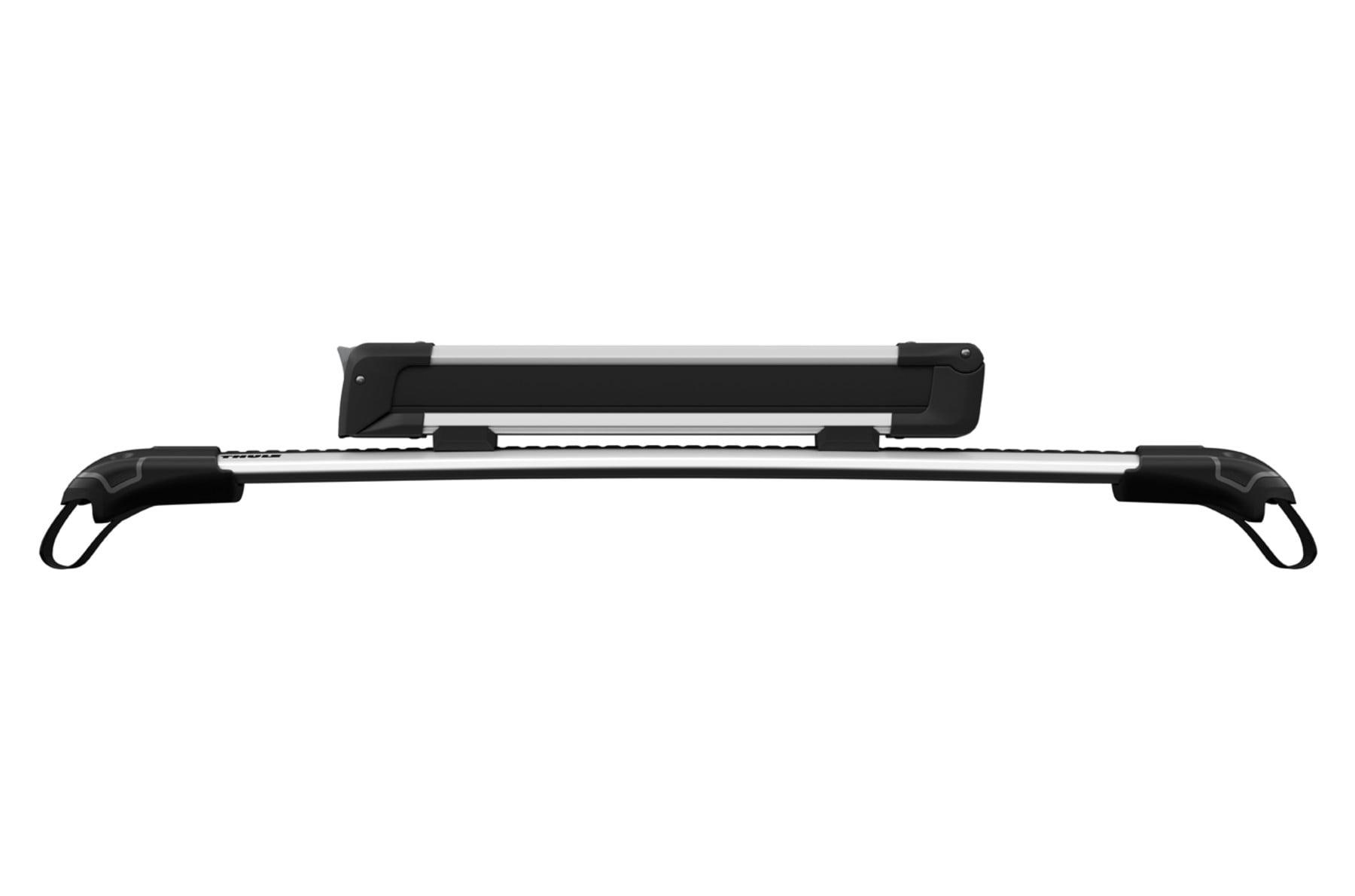 Suport schiuri Thule SnowPack 7324 cu prindere pe bare transversale din aluminiu cu profil T 6