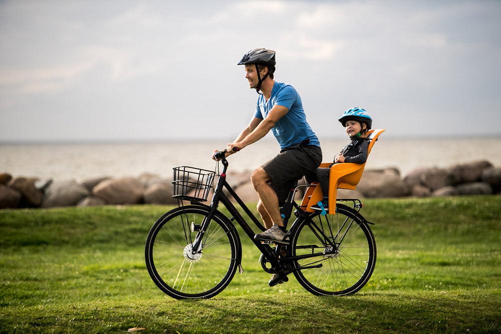 scaun bicicleta copii mule thule